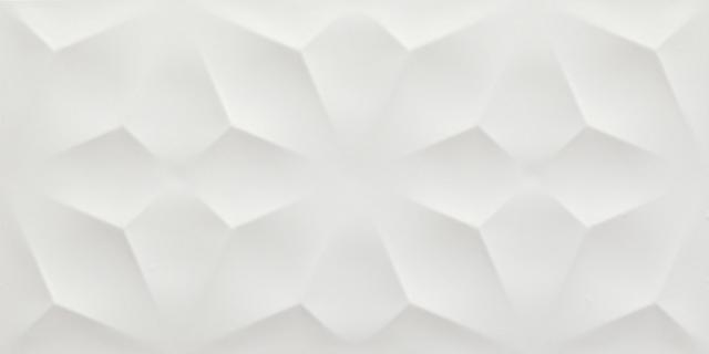 3D Wall Diamond White Matt. 40x80