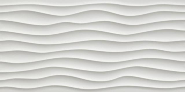 3D Wall Dune White Matt. 40x80