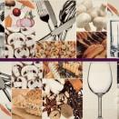 7010 Composicion Marfil Chef ll комплект из 2 штук (75х25)   75x50