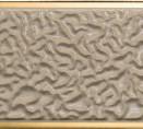 95889 Aqua Cornice Marrone-Oro 25x75