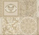 95896 Patchwork Decorati Crema-Oro I 25x75