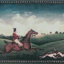 B FOX A Fox Hunting A (One Rider) 15x20