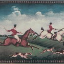 B FOX B Fox Hunting B (Two Riders) 15x20