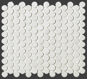 BOSTON GESSO MOSAICO ROUND, 29,5X32,5