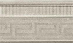 Battiscopa fascia rilievo 15x25 GRIGIO