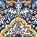 CARTUJA Azul 28x14