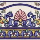 Cenefa GALAN Iris 20x15
