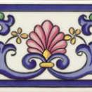 Cenefa Iris 20x7,5