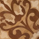 DECORUM Genoa Gloss Brown 43x43