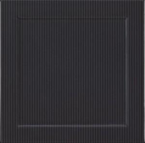 FORMA NERO RIGHE 30x30