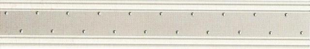 FREGIO BOISERIE ARGENTO MRV034 9.5x60.2
