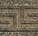 Fasce greca 9,8x39,4 NERO
