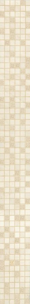 Fregio Crema Marfil 9.6x90