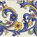 GALAN Flor Iris 20x15