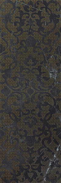 MARVEL NOIR S.LAURENT BROCADE 305x915