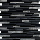 Malla Link Minerals Negro 30x30