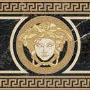 Nero Rosone 58,5x117,2