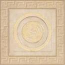 Tozzetto fascia geometrica 15,3x15,3 ALMOND