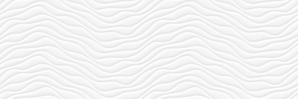 WAVE WHITE 33,3X100